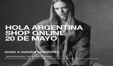 Imagen de Desde el 20 de mayo la marca Zara habilitará la venta online en Argentina