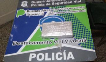 Imagen de Lo echaron del país por vender droga y apareció en la Ruta 2 con un kilo de cocaína