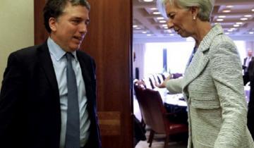 Imagen de Dujovne viaja con una oferta para que el FMI libere US$29.000 millones antes de lo previsto