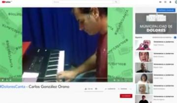 Imagen de El emocionante video de artistas dolorenses