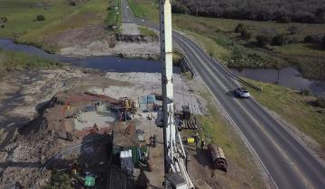 Imagen de Comenzó la reconstrucción de dos puentes sobre la Ruta 11