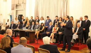 Imagen de Dolores: qué dijo Camilo Etchevarren al asumir su cuarto mandato como intendente