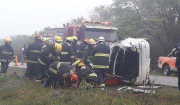 Imagen de Murió un hombre en un choque múltiple que involucró a tres autos