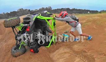 Imagen de Murió una mujer al accidentarse con un UTV en La Frontera de Pinamar