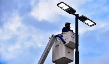 Imagen de El intendente de Dolores anunció más cuadras que contarán con luces LED