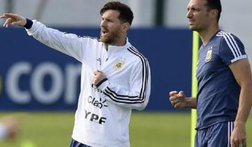 Imagen de La lista definitiva de Argentina para la Copa América: con Messi y sin Icardi