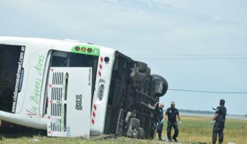 Imagen de Qué dicen las primeras pericias sobre cómo ocurrió el accidente del micro en la Ruta 2