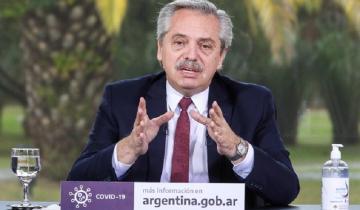 Imagen de A qué hora hablará Alberto Fernández para anunciar la nueva fase la cuarentena