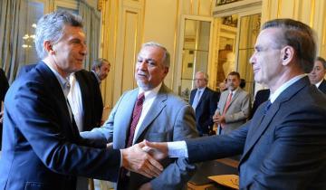 Imagen de Sorpresa en la fórmula de Cambiemos: el elegido para acompañar a Macri es Miguel Ángel Pichetto