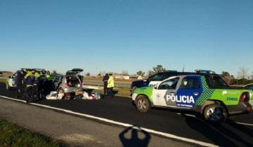 Imagen de Video: así una mujer manejó en contramano casi 50 km por la Autovía 2