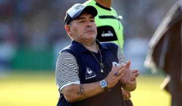 Imagen de Diego Maradona tiene un hematoma subdural en la cabeza y será operado esta noche en la Clínica Olivos