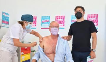 Imagen de Coronavirus: el ministro de Salud bonaerense fue el primer mayor de 60 en recibir la vacuna