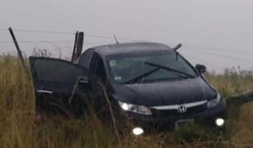 Imagen de Un herido tras un accidente en la Ruta 2