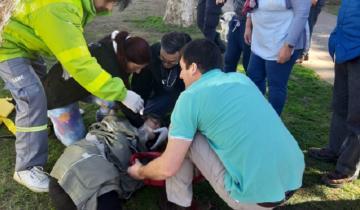 Imagen de Una mujer resultó herida al ser embestida por una camioneta en General Madariaga