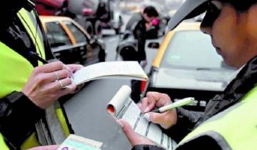 Imagen de También aumentaron las multas de tránsito en la Provincia: la más cara cuesta casi 50 mil pesos