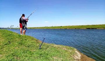 Imagen de En Dolores se autorizó la pesca, el ciclismo, las caminatas y las salidas a correr