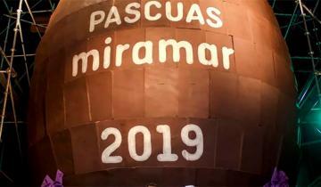 Imagen de Miramar tiene el huevo de chocolate más grande del mundo