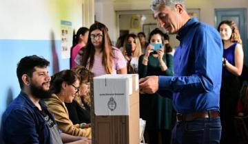 Imagen de Votó Barrera en Villa Gesell y pidió comenzar a reconstruir el futuro