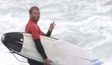 Imagen de Tokio 2021: El argentino Leandro Usuna hizo su debut en surf de los Juegos Olímpicos