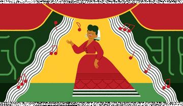 Imagen de Ángela Peralta: quién fue la mujer que Google homenajea hoy en su doodle
