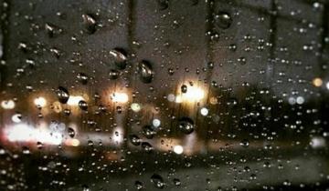 Imagen de Alerta meteorológico por fuertes lluvias en buena parte de la Provincia