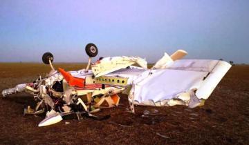 Imagen de Dos heridos de consideración tras caerse una avioneta