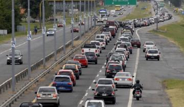 Imagen de Fin de semana largo: más de 2 mil vehículos por hora circulan hacia la Costa Atlántica