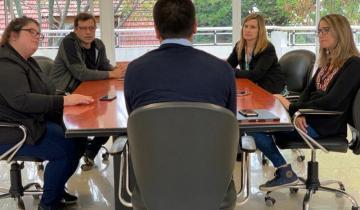 Imagen de Cardozo suma reuniones con todos los sectores: ahora con la senadora Delmonte y Sasián