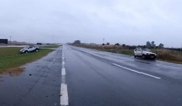 Imagen de Siete heridos tras un fuerte accidente en la Ruta 2
