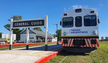 Imagen de Se realiza el viaje de prueba para el tren a Pinamar