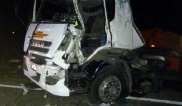 Imagen de Falleció un camionero que protagonizó un grave accidente en Las Flores