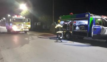 Imagen de Se incendió una vivienda de calle Espora, en Dolores
