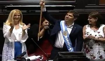 Imagen de Axel Kicillof juró como nuevo gobernador de la provincia de Buenos Aires