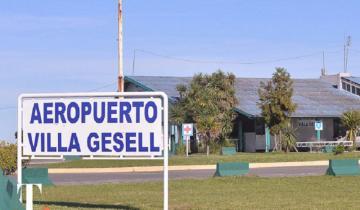 Imagen de Refaccionan la pista de aterrizaje para el arribo de vuelos a Villa Gesell
