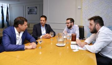 """Imagen de Cardozo se reunió con el ministro de Infraestructura de la Provincia: """"Vamos a trabajar juntos por nuestros sueños"""""""