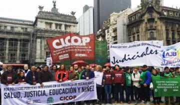 Imagen de Los estatales bonaerenses endurecen sus reclamos a Vidal por la reapertura de paritarias