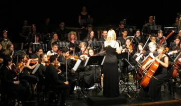 Imagen de La Orquesta Sinfónica Juvenil brindó un concierto  en el Teatro Unione
