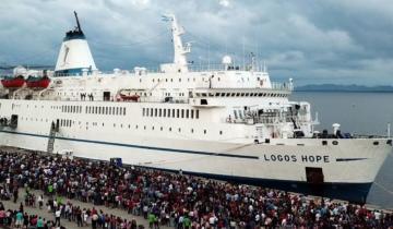 Imagen de Cómo es la biblioteca flotante más grande del mundo que llegará a Mar del Plata