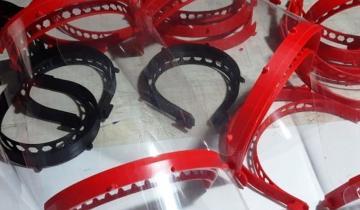 Imagen de Coronavirus: en Dolores fabrican máscaras para personal de salud con impresoras 3D
