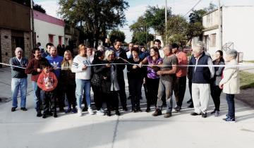 Imagen de El lunes inauguran otras ocho cuadras de pavimento en Dolores