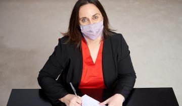 """Imagen de Marcela Passo, precandidata a diputada por la Provincia: """"Ahora tenemos que pensar en alivios para las pymes"""""""