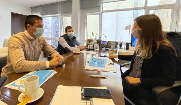 Imagen de El intendente del Partido de La Costa se reunió con Fernanda Raverta: de qué hablaron y más detalles