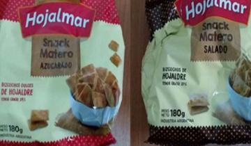 Imagen de La Anmat prohibió la venta de dos variedades de una reconocida marca de bizcochos materos