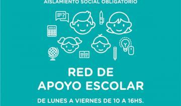 Imagen de La Costa puso en marcha una red de apoyo escolar para ayudar a las familias