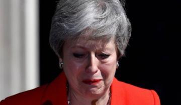 Imagen de Renunció Theresa May y dejará el cargo el 7 de junio
