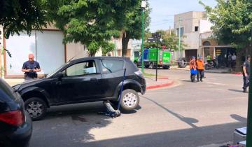 Imagen de Un herido de consideración por un accidente en Dolores