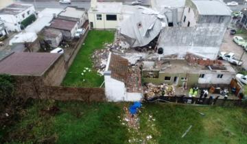 Imagen de Mar del Plata: una mujer murió tras la explosión de una caldera en una fábrica textil