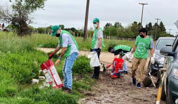 Imagen de Dolores: jóvenes ecologistas realizarán el sábado una jornada de limpieza de basurales