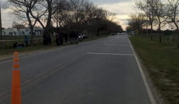 Imagen de Una mujer falleció en un fatal accidente en el ingreso a General Lavalle