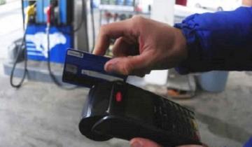 Imagen de Estaciones de servicio independientes suspendieron las tarjetas de crédito